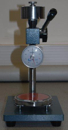 Shore A Hardness tester for plastics