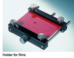 Holder for films