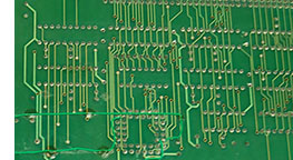 Rear of PCB after Soldering